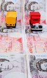 Steigende Transportkosten. Lizenzfreie Stockfotografie