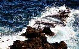 Steigende vulkanische kleine Inseln Lizenzfreie Stockbilder