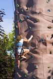 Steigende Wand Stockfotos