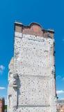 Steigende Wand Stockfoto