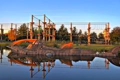 Steigender Park Lizenzfreie Stockfotos