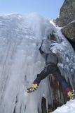 Steigender Sport des Eises stockfotos