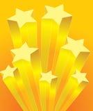 Steigender Stern stock abbildung