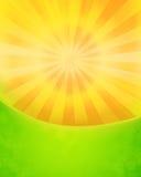 Steigender Sun Stockfoto