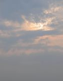 Steigender Sun Lizenzfreies Stockbild