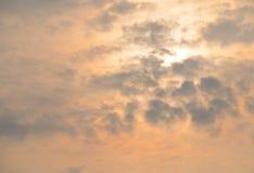 Steigender Sun Lizenzfreies Stockfoto