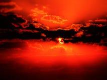 Steigender Sun Stockbilder