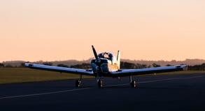 Steigendes Flugzeug Lizenzfreies Stockfoto