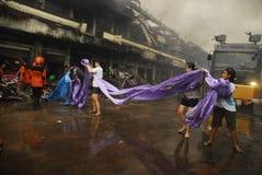 STEIGENDES INFRASTRUKTUR-BUDGET INDONESIENS Stockfoto