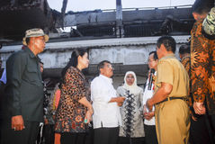 STEIGENDES INFRASTRUKTUR-BUDGET INDONESIENS Stockfotos