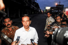 STEIGENDES INFRASTRUKTUR-BUDGET INDONESIENS Stockfotografie