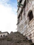 Steigert zum Palast Stockfotografie