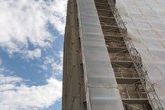 Steigervoorgevel Stock Fotografie