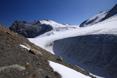 steigletscher ледника Стоковая Фотография RF