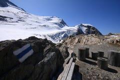 steigletscher ледника Стоковые Фотографии RF