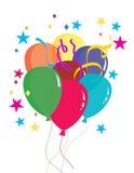Steigt Dekoration im Ballon auf Lizenzfreie Stockbilder