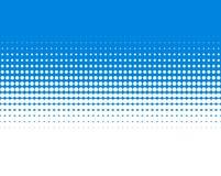 Steigung punktiert blaues Weiß des Hintergrundes lizenzfreie abbildung