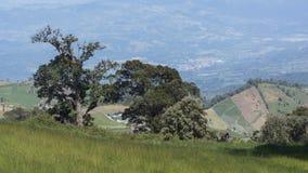 Steigung von Irazu-Vulkan stockbild