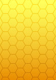 Steigungauszug des orange Gelbs Lizenzfreie Stockbilder