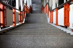 Treppenschritte stockfotografie