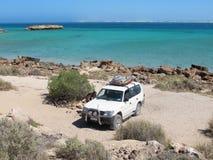 Steil Punt, Meest westelijke Punt, Haaibaai, Westelijk Australië stock afbeelding