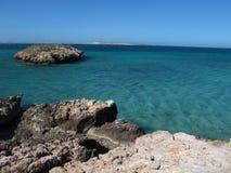 Steil Punt, Meest westelijke Punt, Haaibaai, Westelijk Australië royalty-vrije stock foto