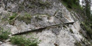 Steil spoor Stock Afbeeldingen