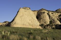 Steile Böschung auf den Pawnee-Staatsangehörig-Wiesen Lizenzfreie Stockbilder