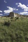 Steile Böschung auf den Pawnee-Staatsangehörig-Wiesen Stockbild