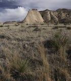 Steile Böschung auf der Pawnee-Staatsangehörig-Wiese Lizenzfreies Stockfoto