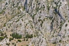 Steile helling van de berg royalty-vrije stock afbeeldingen