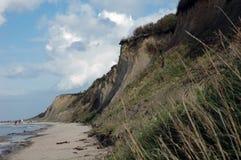 Steile Küste Lizenzfreie Stockbilder