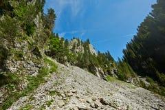 Steile Klippe Lizenzfreies Stockfoto