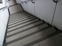 Steile Moderne Treden Stock Afbeelding