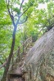 Steile weg Stock Fotografie
