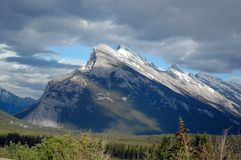 Steiler Berg Lizenzfreies Stockfoto