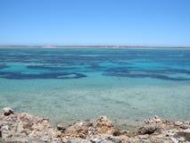 Steiler Punkt, Westernmost Punkt, Haifisch-Bucht, West-Australien lizenzfreie stockbilder