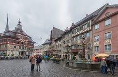 Stein AM Ρήνος Ελβετία Στοκ φωτογραφία με δικαίωμα ελεύθερης χρήσης