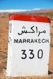 Stein in Afrika Marokko Lizenzfreie Stockfotos