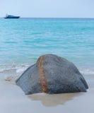 Stein auf dem Sand Lizenzfreie Stockfotografie
