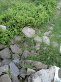 Stein büßen lizenzfreie stockbilder