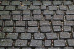 Stein blockiert nahtlose Tileable-Beschaffenheit, die vom Feld ausführlich ist Lizenzfreie Stockfotos