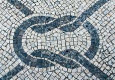 Stein blockt Plasterungsbeschaffenheit für Hintergrund Lizenzfreie Stockfotos