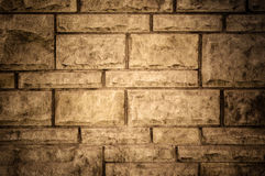 Stein blockt Wand Stockfoto