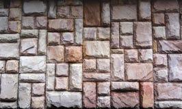 Stein blockt Wand Stockfotografie