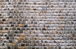 Stein-brickes Wand Stockbild