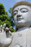 Stein-Buddha in Chin Swee Caves Temple, Genting-Hochländer Lizenzfreie Stockbilder