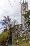 Stein castle of Baden in Switzerland - 1. Ruin of the Stein castle of Baden in Switzerland - 1 Royalty Free Stock Photos