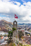 Stein castle of Baden in Switzerland - 2. Ruin of the Stein castle of Baden in Switzerland - 2 Stock Image