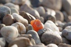 Stein, der unter den identischen vielen sich unterscheidet lizenzfreie stockfotos